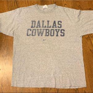 90's Vintage nike Dallas cowboys tee shirt size XL